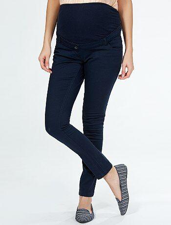 Pantaloni gabardine 5 tasche