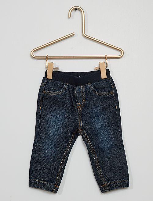 Pantaloni in denim                             BLU