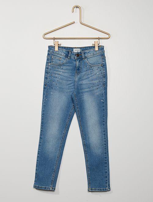 Pantaloni in denim skinny                                         BLU