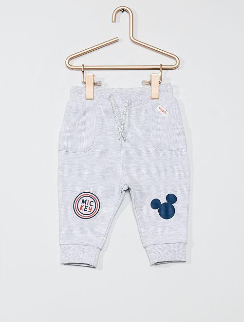 Pantaloni in tessuto felpato 'Topolino'                                         GRIGIO