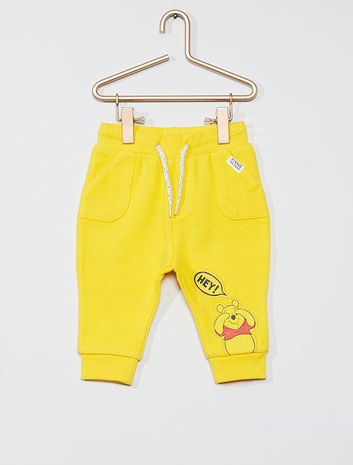 Pantaloni in tessuto felpato 'Winnie'                                         GIALLO