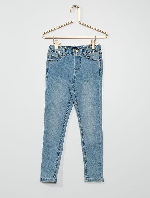 Pantaloni jeggings                                         BLU