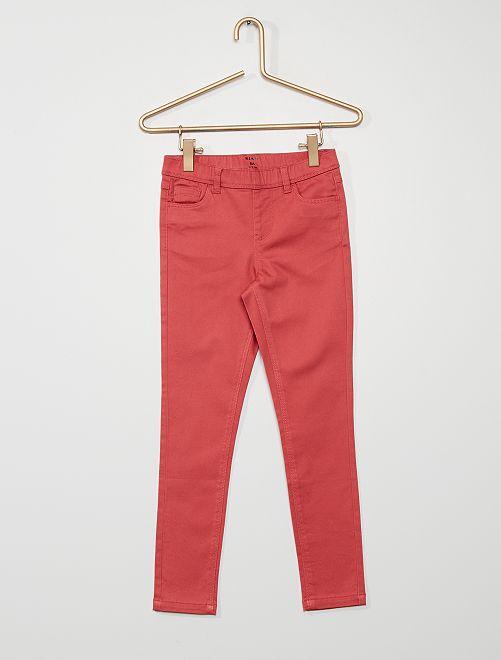 Pantaloni jeggings                                         ROSA