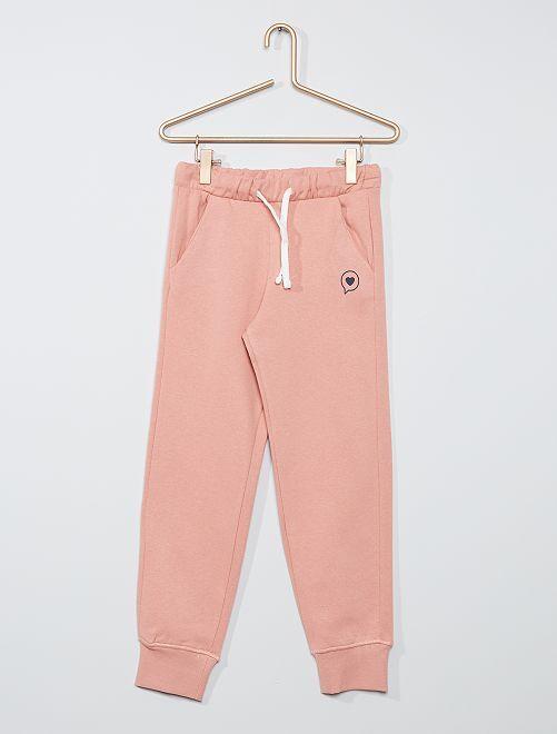 Pantaloni joggers eco-sostenibili                                         ROSA