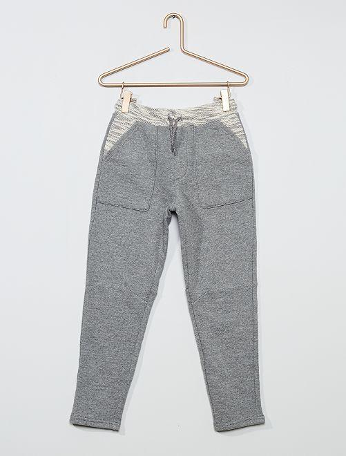 Pantaloni joggers                                                     GRIGIO