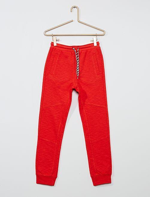 Pantaloni joggers                                                     rosso