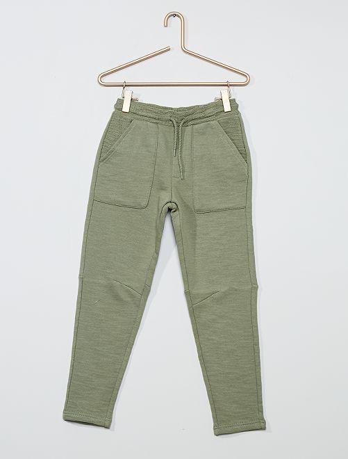 Pantaloni joggers                                                     VERDE