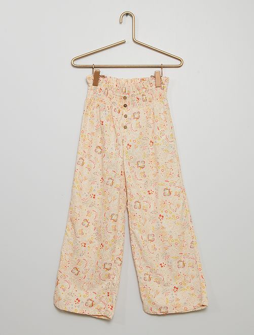 Pantaloni larghi                                         BIANCO