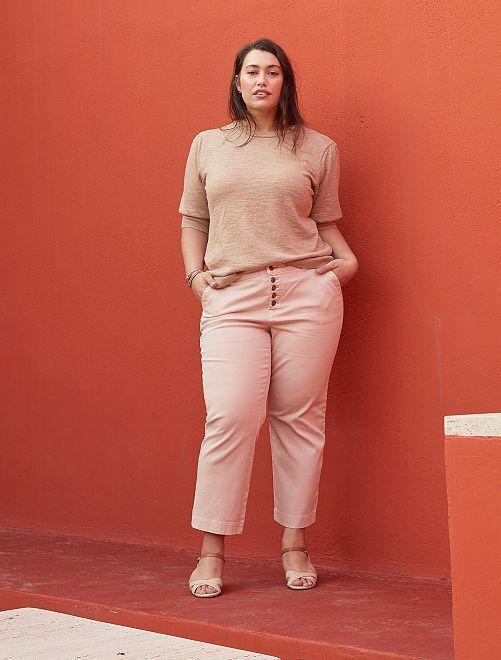 Pantaloni larghi colorati                                         ROSA