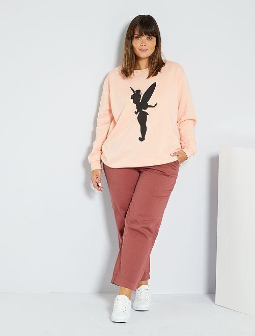 Pantaloni larghi colorati                     ROSSO