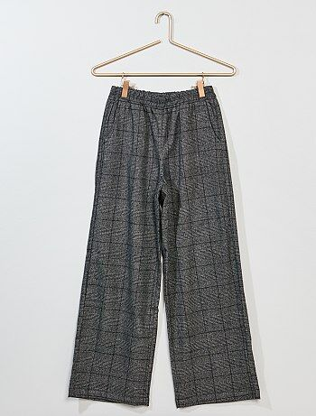 Pantaloni larghi stretch - Kiabi