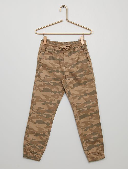 Pantaloni 'mimetici'                                                     BEIGE