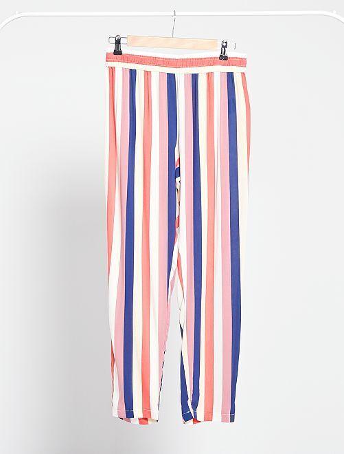 Pantaloni morbidi 'JDY'                                                                                         a righe multicolore