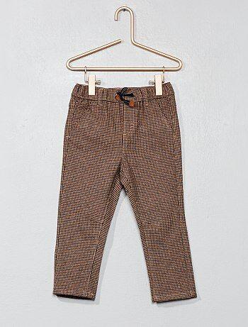 Pantaloni pied de poule - Kiabi