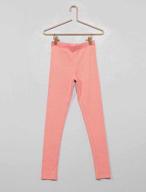 Pantaloni pigiama a coste                                         rosa