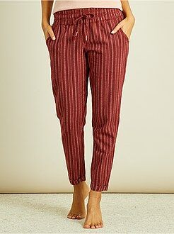 Intimo dalla S alla XXL Pantaloni pigiama flanella
