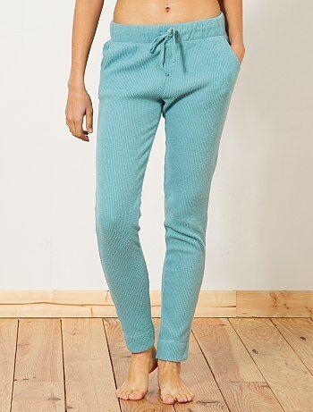Intimo dalla S alla XXL - Pantaloni pigiama maglia a coste - Kiabi