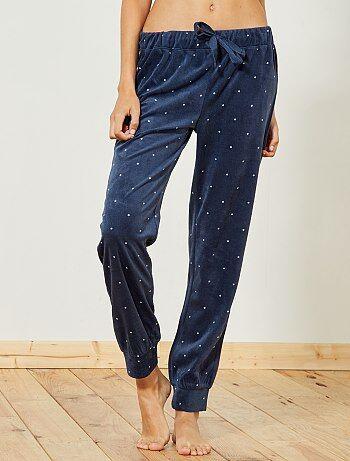 Pantaloni pigiama pile - Kiabi