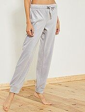 Pantaloni pigiama pile