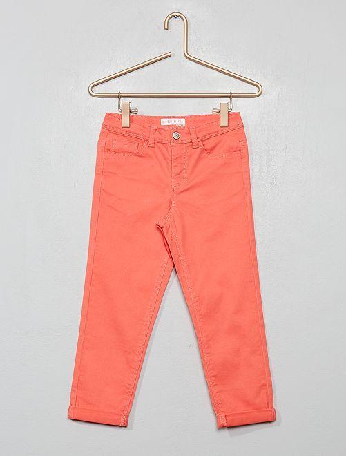 Pantaloni pinocchietto skinny                                                                                         rosa
