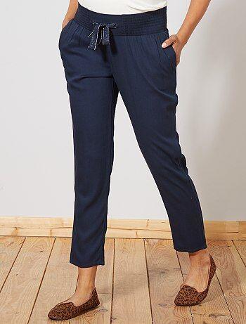 a05bf9e01208 Pantaloni premaman fluidi - Kiabi
