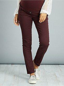 Pantaloni - Pantaloni premaman slim stretch