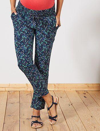 4ee008ae8c60 Pantaloni premaman stampati - Kiabi
