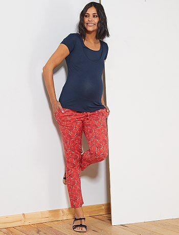 d2a9f89bfd1f Pantaloni premaman stampati - Kiabi