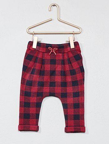 Pantaloni quadretti tartan - Kiabi