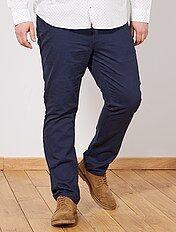 Pantaloni regular gabardine