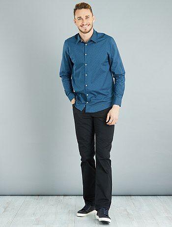 Pantaloni regular twill di cotone L36 + 1 m 90 - Kiabi