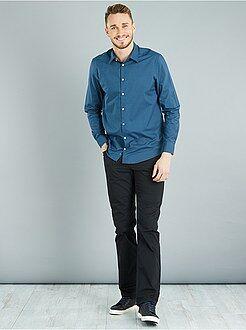 Uomini alti più di 190cm - Pantaloni regular twill di cotone L36 + 1 m 90 - Kiabi