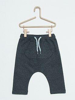 Pantaloni, jeans, leggings - Pantaloni sarouel effetto flanella