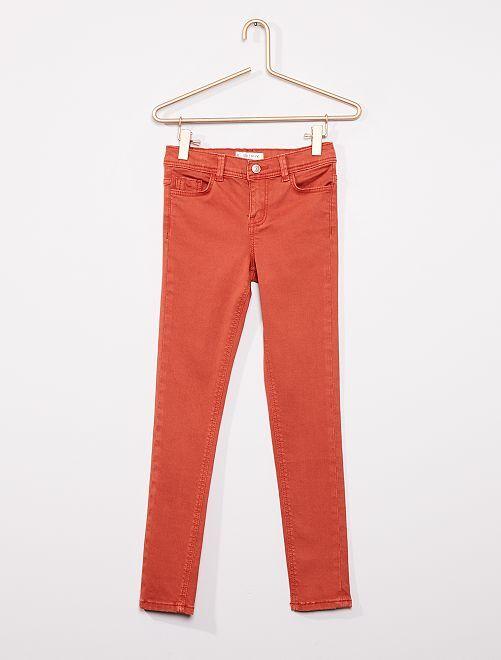 Pantaloni skinny                                                                                                                                                                             ARANCIONE
