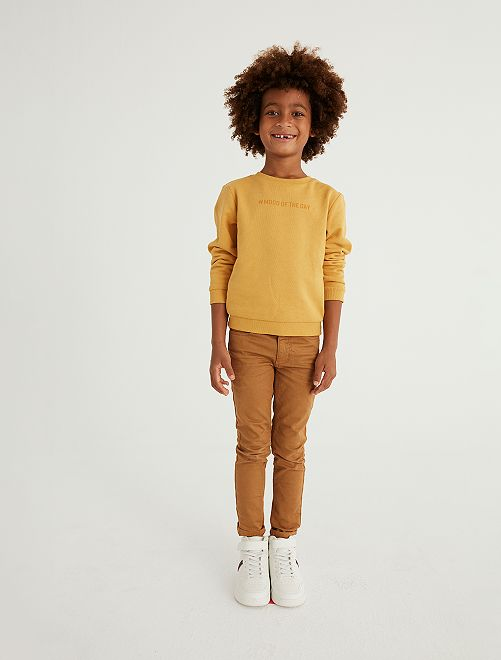 Pantaloni skinny cinque tasche                                                                                                                                                                                                     BEIGE