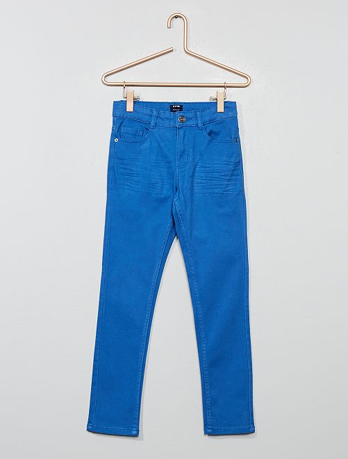 Pantaloni skinny cinque tasche                                                                                                                                                                             BLU