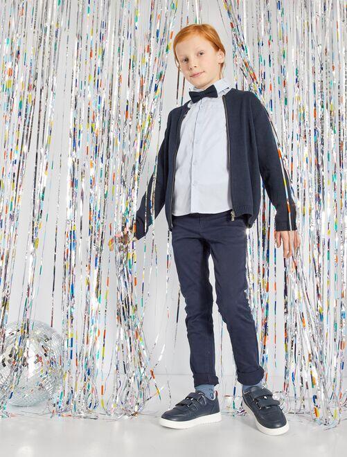 Pantaloni skinny cinque tasche                                                                                                                 blu marino