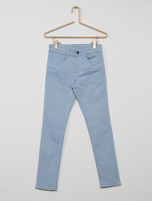 Pantaloni skinny cinque tasche                                                                                                                                                                                                     grigio blu