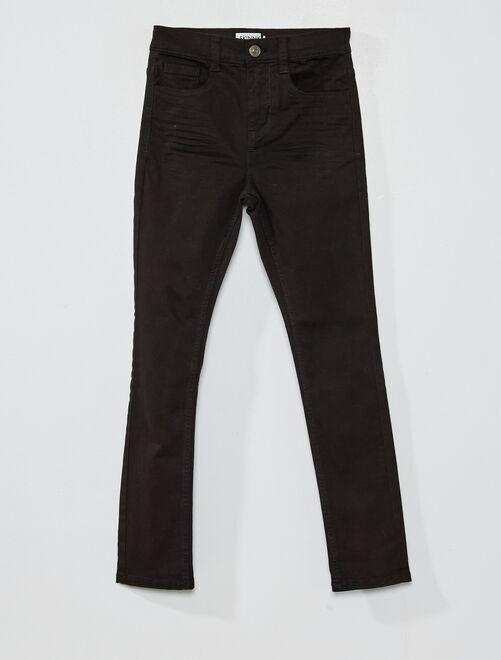 Pantaloni skinny cinque tasche                                                                                                                     nero Infanzia bambino