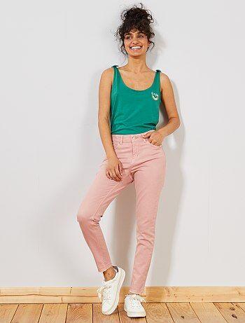Donna dalla 38 alla 52 - Pantaloni skinny denim - Kiabi c58c35e068e