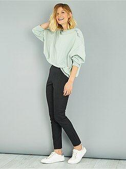 Donna dalla 38 alla 52 Pantaloni skinny ecopelle opaca