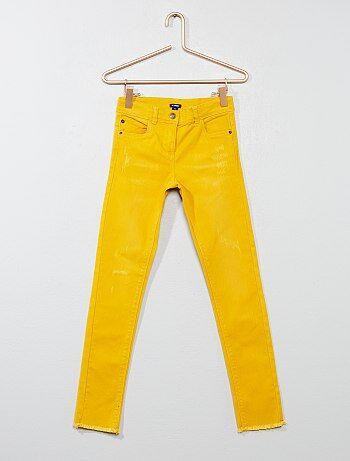 Pantaloni skinny finitura frange - Kiabi