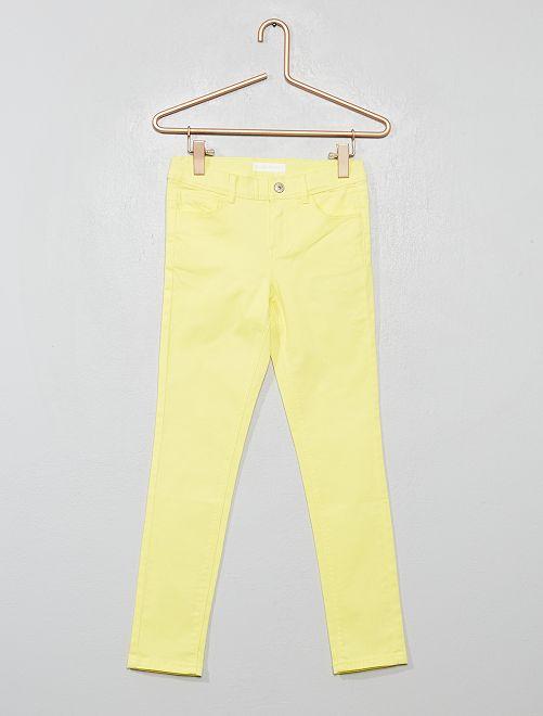 Pantaloni skinny                                                                                             giallo