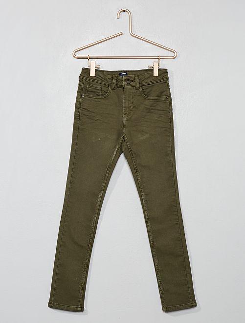 Pantaloni skinny                     KAKI Infanzia bambino
