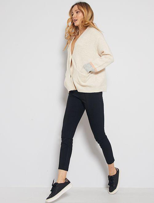 Pantaloni skinny                             nero