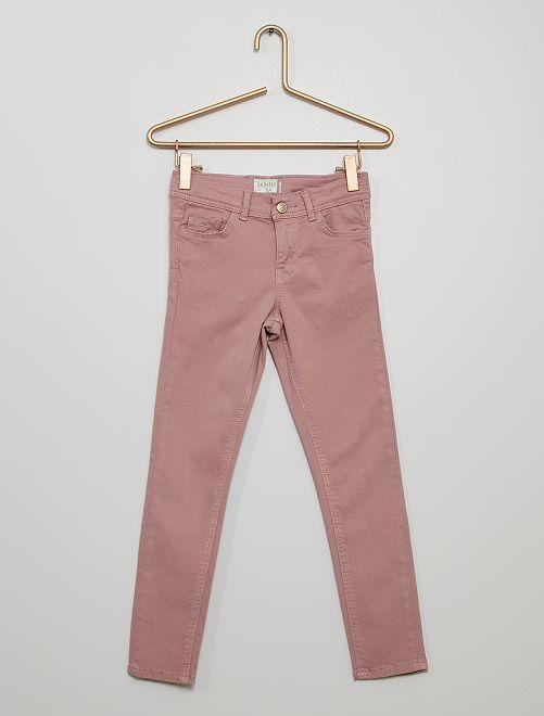 Pantaloni skinny                                                                                                     rosa antico