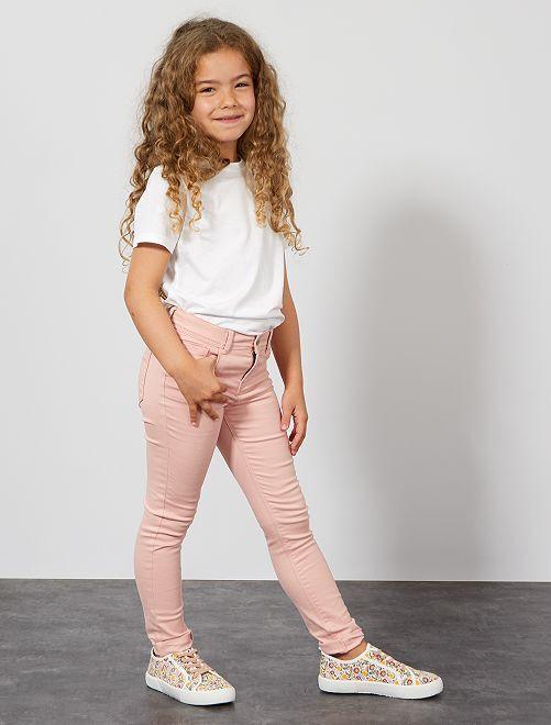 Pantaloni skinny                                                                                                     rosa