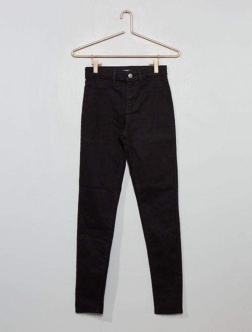 Pantaloni skinny stretch                                                                 nero