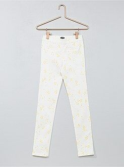 Pantaloni skinny stretch screziati - Kiabi