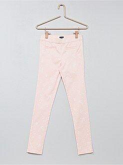 Pantaloni skinny stretch screziati - Kiabi